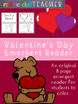 Valentine's Day Emergent Reader