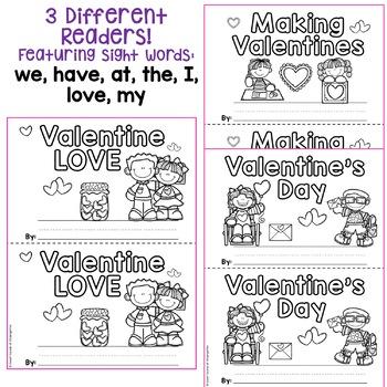 Valentine's Day Emergent Readers