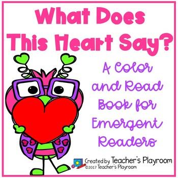 Valentine's Day  Emergent Reading Book Set