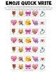 Valentine's Day Emoji Writing Prompt