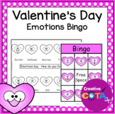Valentine's Day Emotion Bingo