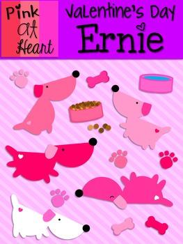 Valentine's Day Ernie Clip Art