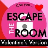 Valentine's Day Escape Room