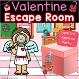 Valentine's Day Escape Room Valentine Breakout Activity Ki