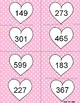 Valentine's Day Even and Odd Sort 0-1200