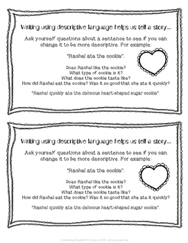 Valentine's Day Expanding Sentences