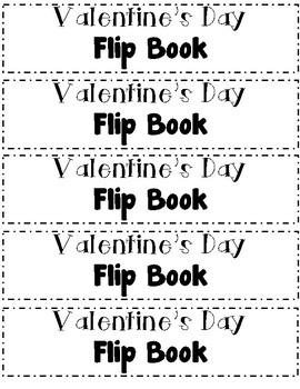 Valentine's Day FLIP Book!