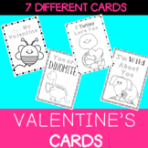 Valentine's Day Cards - NO PREP Activity Centre