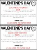 Valentine's Day FREEBIE | LETTER TO PARENTS