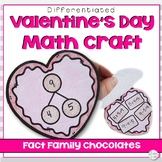 Valentine's Day Fact Families Craft