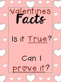 Valentine's Day Fact or Opinion