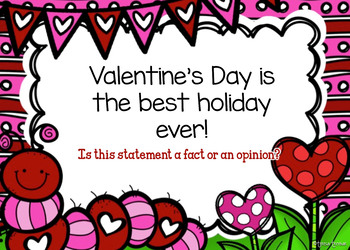 Valentine's Day Fact or Opinion PowerPoint