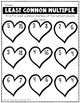 Valentine's Day Factor Math Practice - Heart Themed