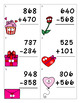 Valentine's Day/February Addition & Subtraction Task Cards/Math Center