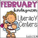 Valentine's Day {February} Literacy Centers for Kindergarten