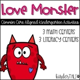 Love Monster Centers {Valentine's Day} #teachersloveteachers