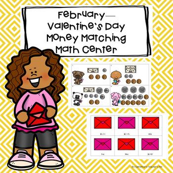 Valentine's Day/February Money Matching Center