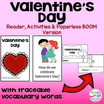Valentine's Day ~ February Reader + BOOM™ Version with Audio