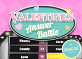 Valentine's Day Feud - Family Feud Trivia Powerpoint Game - Mac PC and iPad