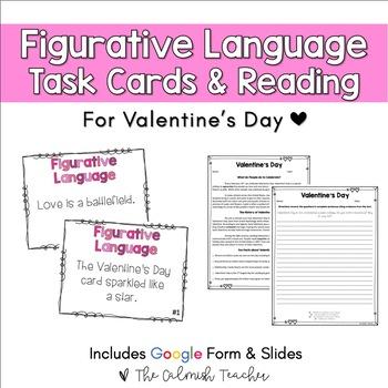 Valentine's Day Figurative Language & ELA Activity Pack