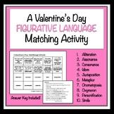 Valentine's Day Figurative Language Matching Activity