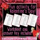 Valentine's Day Figurative Language Practice