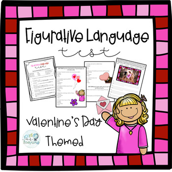 Valentine's Day Figurative Language Test