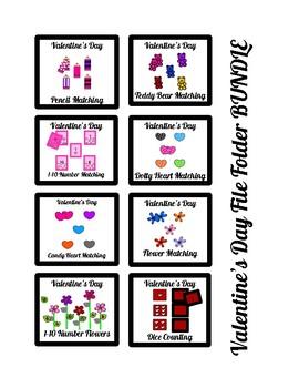 Valentine's Day File Folder BUNDLE