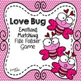 Valentine's Day File Folder Game: Emotions Matching
