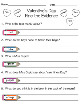 Valentine's Day - Find the Evidence!