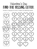 Valentine's Day Find the Letter