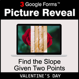 Valentine's Day: Find the Slope Given Two Points - Google