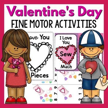 Valentine's Day Fine Motor Activities