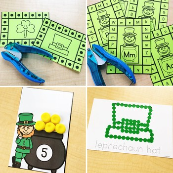 St. Patrick's Day Fine Motor Activities