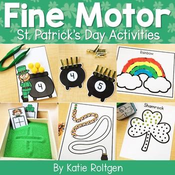 St. Patrick's Day Fine Motor Activities