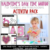 Valentine's Day Fine Motor Activities For Toddlers and Pre