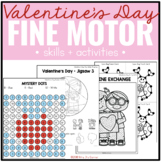 Valentine's Day Fine Motor Practice, Skills and Activities
