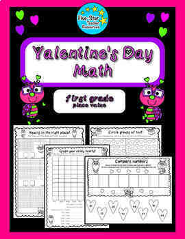 Valentine's Day--1st grade--Place Value