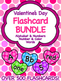 Valentine's Day Flashcard Bundle