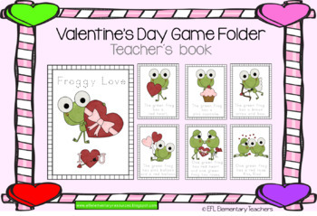 Valentine´s Day Flashcards and more for ESL students
