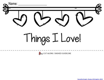 Valentine's Day Writing Flip Book!