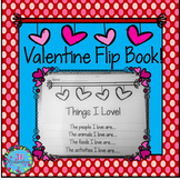 Valentine's Day Writing Flip Book DOLLAR DEAL Activities ESL