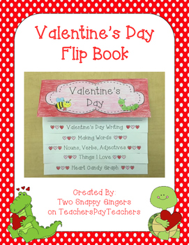 Valentine's Day Flip Book