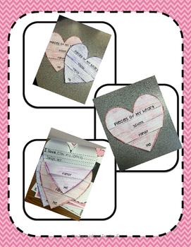 Valentine's Day Writing Activity [Flip Book]