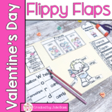 Valentine's Day Activities Interactive Notebook Lapbook