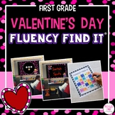 Valentine's Day Fluency Find It (1st Grade)