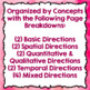 Valentine's Day Following Directions Worksheets - Print & Go Activities
