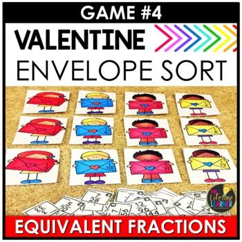 Valentine's Day 4th Grade Math Centers BUNDLE - Valentine's Day Math Activities