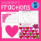 Valentine's Day Fraction Activities