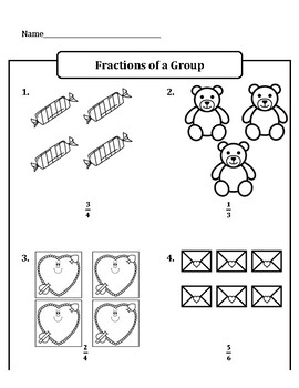 Valentine's Day Fractions of a Group